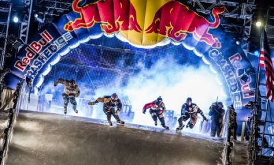Red Bull Crashed Ice Saint Paul 2014.