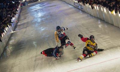 Red Bull Crashed Ice Moskau 2014.