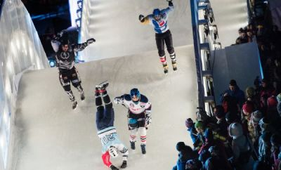 Red Bull Crashed Ice Quebec 2014.